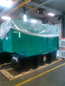 Cummins Diesel generator 150kw 600 volts ,new