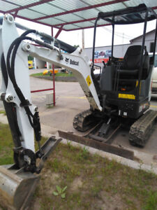 Bob cat Skid steer and Mini ex. for sale