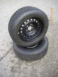Studded 225/60/16 Winter Tires on Rims
