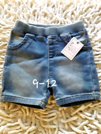 Boys shorts 9-12