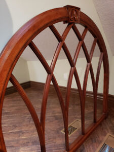 Stunning Arched Mirror - (Solid Wood)