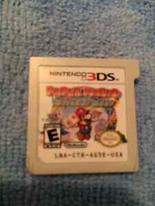 Nintendo 3ds papermario sticker star mario bros