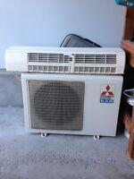 Air conditionner/air climatiser Mitsubishi Mr Slim 17500 btu