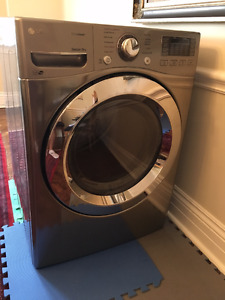 LG Ultra Large Capacity Electric Steam Dryer