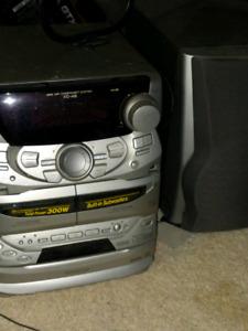 Kenwood XD-A8 3 cd disc boom box