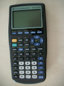 MATHEMATICS *STUDENTS * ELEVES * TEXAS INSTRUMENTS  TI-83 PLUS