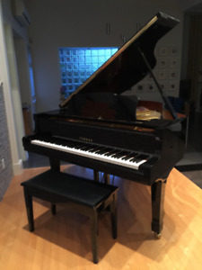 Excellent Yamaha Grand Piano G2 + silent feature (used)
