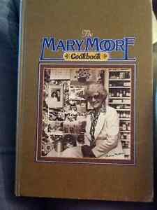 MARY MOORE COOKBOOK.    Hard to find.