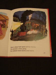 JESSE JAMES THE OUTLAW very Rare childrens Hardcover collectible Belleville Belleville Area image 6