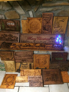 CUSTOM MADE WOOD CARVED SIGNS