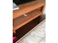tv unit nice wood