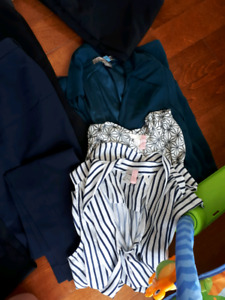 Lot of women's business casual clothes