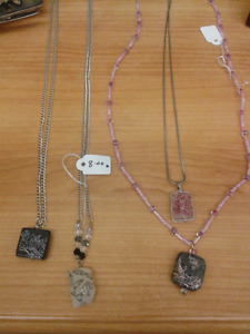 Beautiful locally hand crafted jewelry