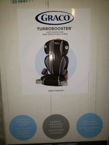 Graco Turbo Booster never opened