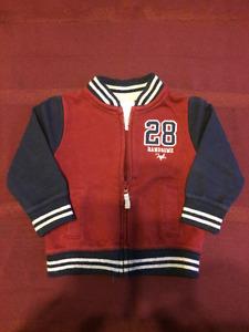 Baby Zip Up Athletic Jacket