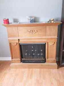 Gel fuel fire place