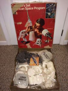 Original 1967 Collector's Set American Space Program Revell kit