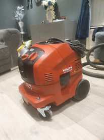 Hilti wall chaser and hoover ready for work
