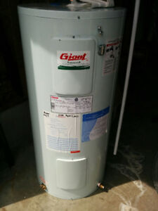 Electric hot water tank - 40 gal