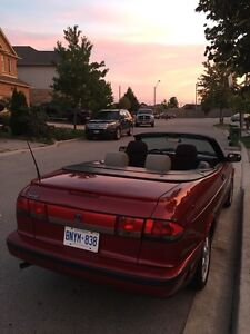 Classic 1997 Saab 900 Talladega Convertible  sports car