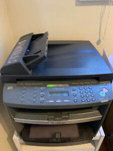 Canon laser printer - has never failed me - toner inside