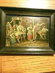 Extremely old Vintage and original oil painting