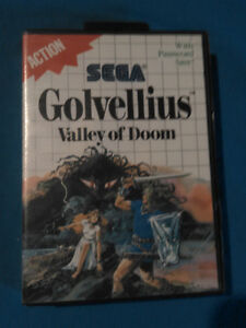 Golvellius Valley of Doom Sega Master System