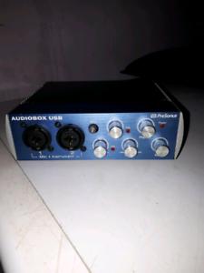 Interface audio  Audiobox USB Presonus