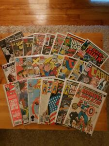 Lot de comics marvel