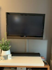LG TV with wall mount