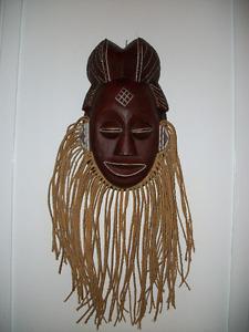 2 masques, dont 1 indonésien
