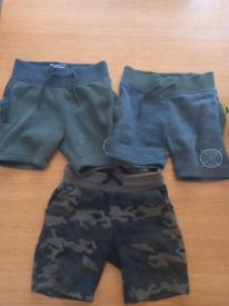 3 x Boys Shorts (2-3yrs)
