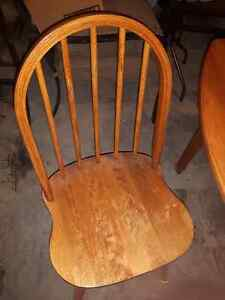 2 wood chairs for sale London Ontario image 1