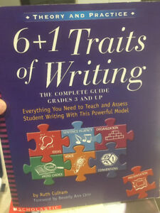 6 + 1 Traits of Writing, for grades 3 and up, only $12.00!
