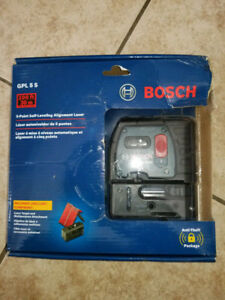 Bosch GPL 5 S (Self Leveling with Laser Alignment)