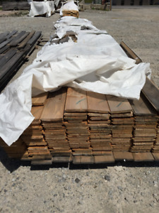 """1x6 Pine Tongue and Groove (1/2"""") PILES - LUMBER CLEAROUT"""