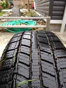 185/60R14 Imperial SnowDragon 2 winter tires, 100 x 4 rims Kitchener / Waterloo Kitchener Area image 1