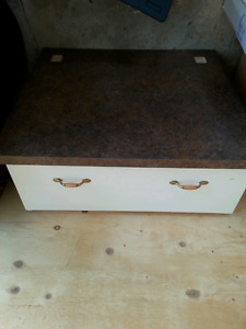 Dryer stand, Large drawer