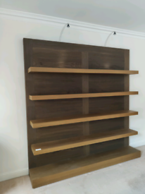 Shelving unit, bookshelves