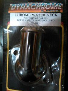 chrome water neck for pontiac V8