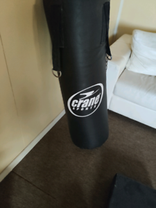 Gym punching boxing bag with free boxing gloves