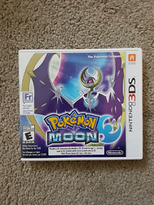 Pokemon Moon for the Nintendo 3ds