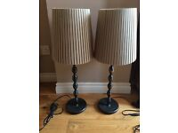 Lamps £30
