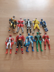 Selection of Power Rangers