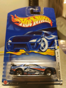 Hot wheels 2002 APT Nissan Skyline