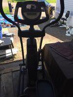 Elliptical and training Bike