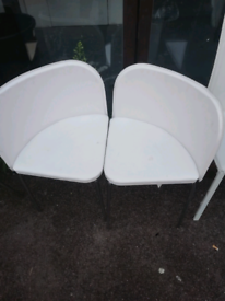 Triangle chairs £10 each. Real Bargains Clearance Outlet Leicester Cit