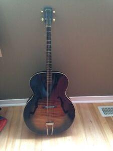 Harmony acoustic Tenor guitar 1962  Gatineau Ottawa / Gatineau Area image 4