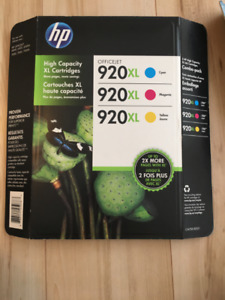 HP Printer Ink - 920XL - Colour Pack - Brand New