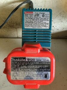 Makita charger w/battery